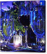 Holiday Blues Acrylic Print
