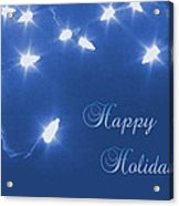 Holiday Card I Acrylic Print