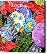 Holiday Decorations Acrylic Print