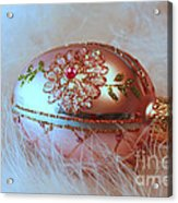 Holiday Greetings From Days Past  Acrylic Print