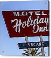 Holiday Inn 3 Acrylic Print