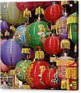 Chinese Holiday Lanterns Acrylic Print