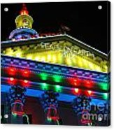 Holiday Lights 2012 Denver City And County Building L5 Acrylic Print