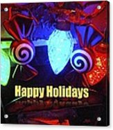 Holiday Lights Acrylic Print