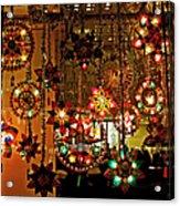 Holiday Lights Acrylic Print