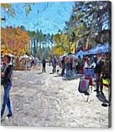 Holiday Market Acrylic Print