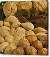 Holiday Nuts Acrylic Print