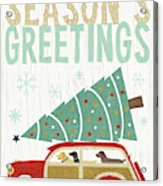 Holiday On Wheels II V2 Acrylic Print