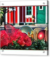 Holiday Reflections Acrylic Print