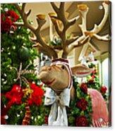 Holiday Reindeer Acrylic Print