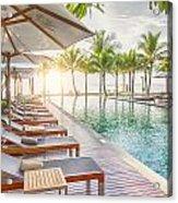 Holiday Resort Acrylic Print