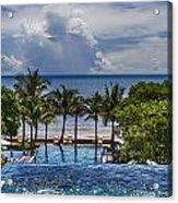 Holiday Resort With Jacuzzi And Pool Acrylic Print