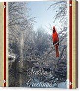 Holiday Season 2013 Acrylic Print by Teresa Schomig