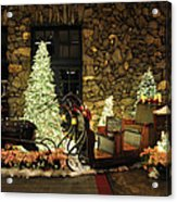 Holiday Sleigh Hsp Acrylic Print by Jim Brage