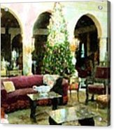 Holiday Time Inside Ringling Acrylic Print
