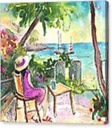 Holidays In Saint Martin Acrylic Print