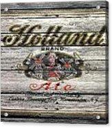 Holland Ale Acrylic Print