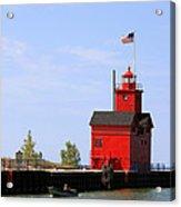 Holland Harbor Lighthouse Acrylic Print
