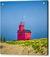 Holland Harbor Lighthouse Mi Acrylic Print