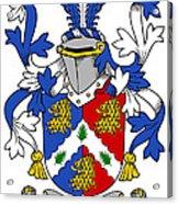 Holligan Coat Of Arms Irish Acrylic Print