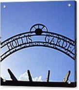 Hollis Gardens Entrance Acrylic Print