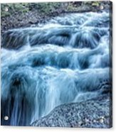 Hollow River Rapids Acrylic Print