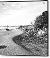 Holly Beach Now Wildwood New Jersey 1907 Vintage Photograph Acrylic Print