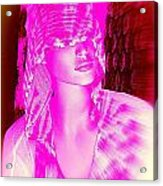 Holly In Hood Acrylic Print