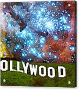 Hollywood 2 - Home Of The Stars By Sharon Cummings Acrylic Print