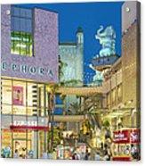 Hollywood And Highland Center Hoillywood Ca  Acrylic Print
