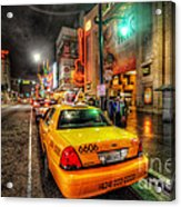 Hollywood Boulevard Acrylic Print