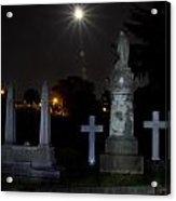 Hollywood Cemetery Moon Burst Acrylic Print