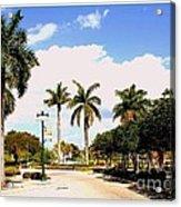 Hollywood Florida Acrylic Print