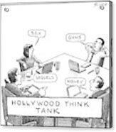 Hollywood Think Tank Acrylic Print