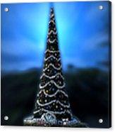 Hollywood Xmas Tree Walt Disney World Acrylic Print