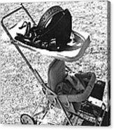 Holster Baby Carriage Helldorado Days Tombstone 1970 Acrylic Print