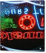 Holsum Las Vegas Acrylic Print