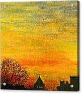 Holy City Sunset Acrylic Print