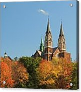 Holy Hill In Living Color Acrylic Print