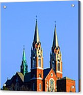 Holy Hill  Acrylic Print by James Hammen