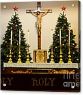 Holy Holy Holy Acrylic Print by Bob Christopher