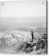 Holy Land Dead Sea, C1910 Acrylic Print