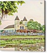 Holy Rosary Church Acrylic Print