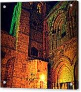 Holy-sepulchre Acrylic Print by Amr Miqdadi