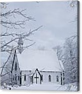 Holy Trinity Anglican Church And Acrylic Print
