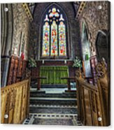 Holy Trinity Church Vertotama Acrylic Print