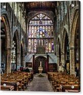 Holy Trinity Acrylic Print by Trevor Wintle