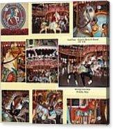 Holyoke Carousel Collage Acrylic Print