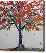 Homage To Autumn Acrylic Print