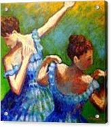 Homage To Degas Acrylic Print